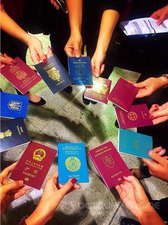 Заполнение анкет для визы в США